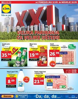 Lidl katalog XXL tjedan