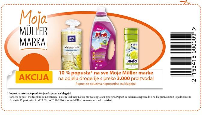 Muller kupon Muller marke