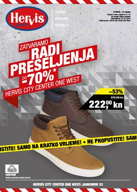 Hervis katalog City Center West