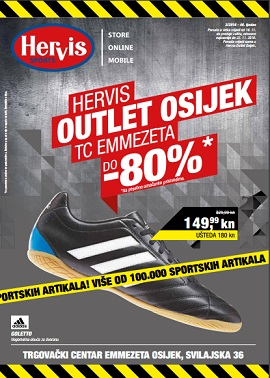 Hervis katalog outlet Osijek