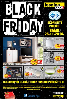 Lesnina katalog Black friday