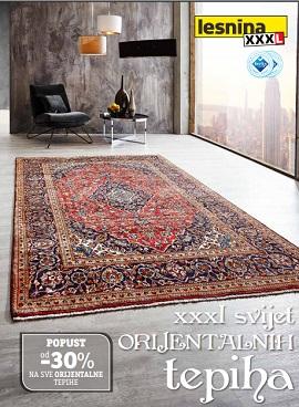 Lesnina katalog orijentalni tepisi