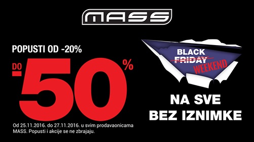 Mass Black Friday
