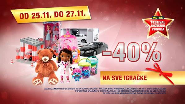 Metro vikend akcija igračke