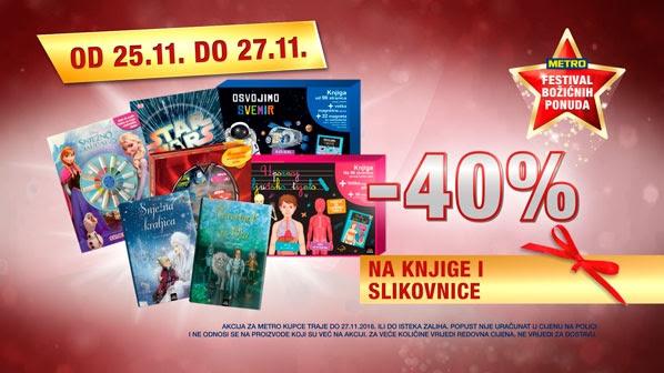 Metro vikend akcija knjige slikovnice