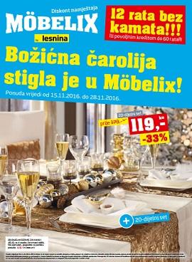 Mobelix katalog Božićna čarolija