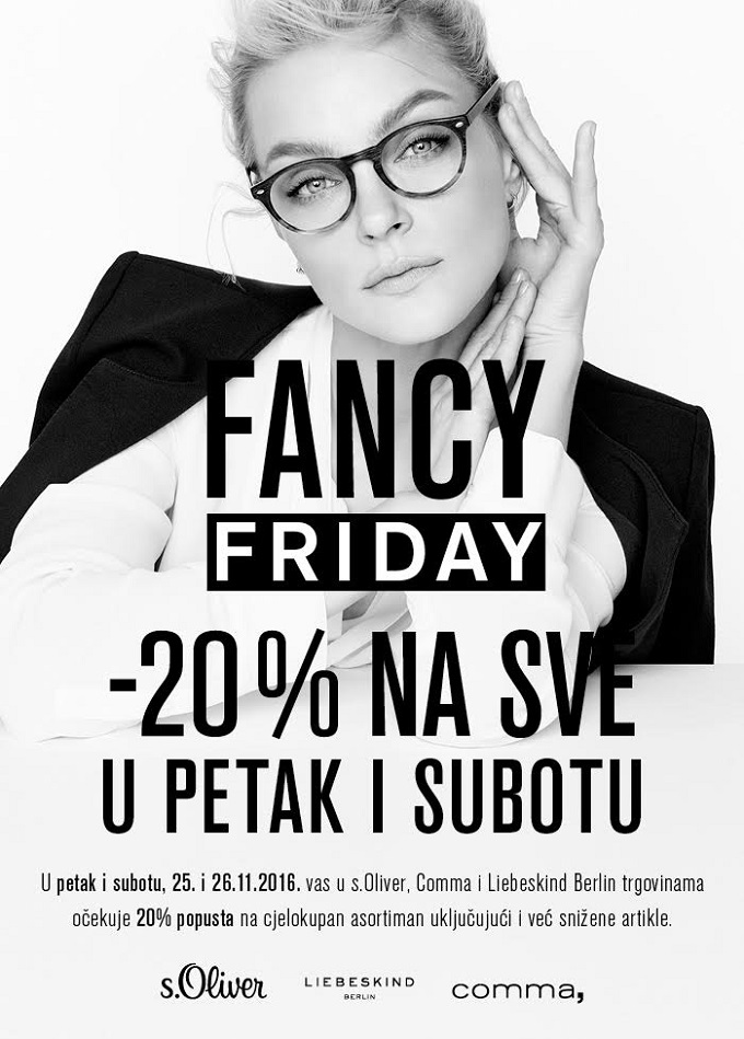 s.Oliver akcija Black Friday