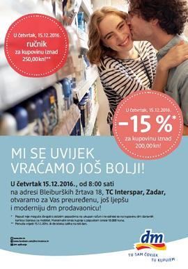 dm katalog Zadar