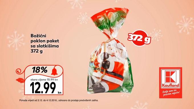 Kaufland vikend akcija božićni pokon paket