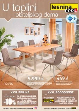 Lesnina katalog U toplini obiteljskog doma