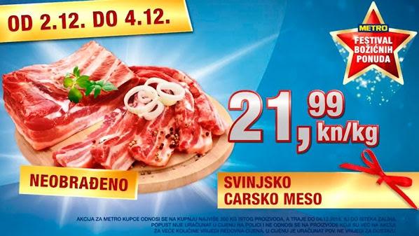 Metro vikend akcija carsko meso