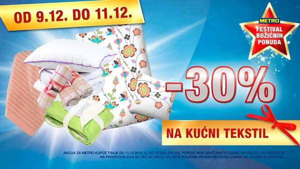 Metro vikend akcija kućni tekstil