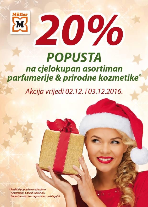 Muller akcija prirodna kozmetika parfemi