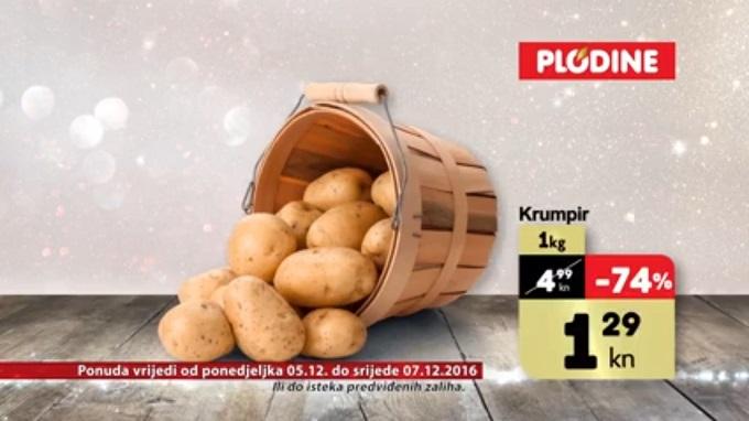 Plodine akcija krumpir