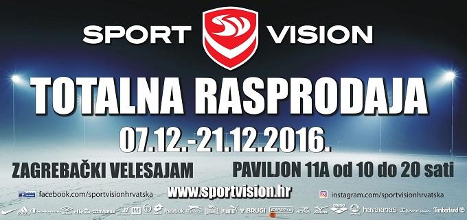 Sport Vision totalna rasprodaja