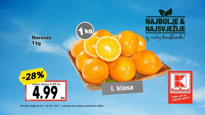 Kaufland akcija naranče