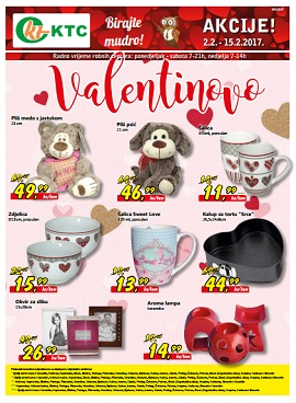 KTC katalog Valentinovo