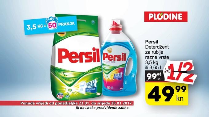 Plodine akcija Persil