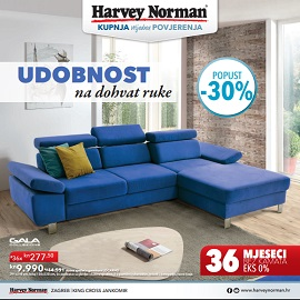 Harvey Norman katalog udobnost