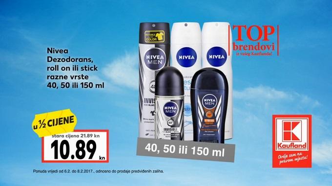 Kaufland akcija Nivea dezodoransi