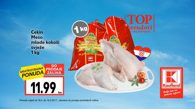 Kaufland vikend akcija meso mlade kokoši