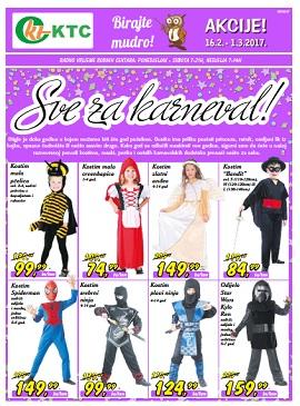KTC katalog Sve za karneval