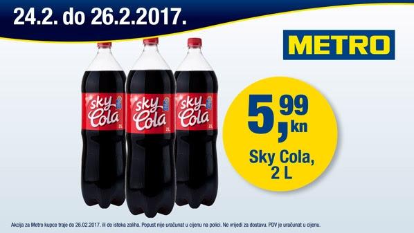 Metro vikend akcija Sky colaMetro vikend akcija Sky cola