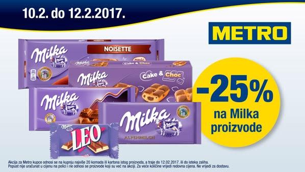 Metro vikend Milka proizvodi