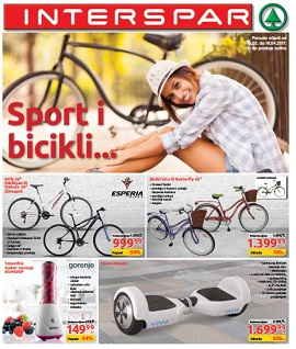 Interspar katalog bicikli