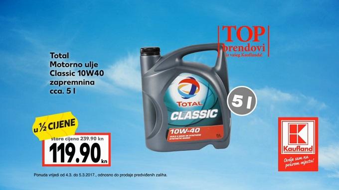 Kaufland vikend akcija motorno ulje