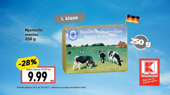 Kaufland vikend akcija njemački maslac