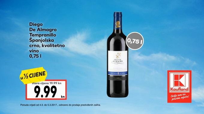 Kaufland vikend akcija Španjolsko vino