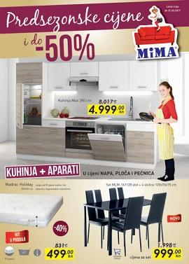 Mima namještaj katalog