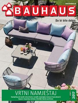 Bauhaus katalog Vrtni namještaj