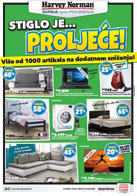 Harvey Norman katalog Proljeće