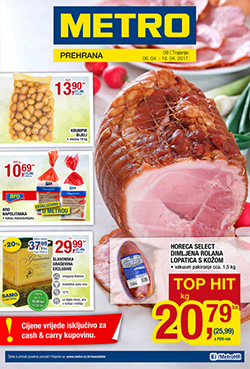 Metro katalog prehrana travanj