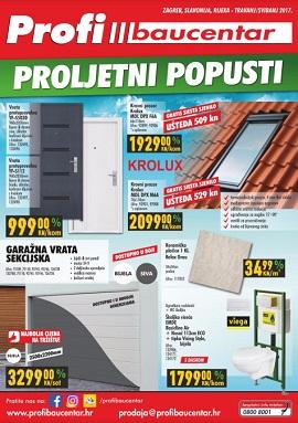 Profi Baucentar katalog Proljetni popusti