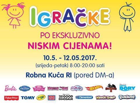 Orbico rasprodaja igračaka Rijeka