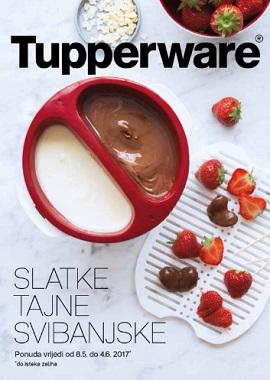 Tupperware katalog Slatke tajne svibanjske