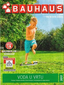 Bauhaus katalog Voda u vrtu