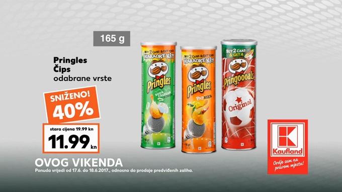 Kaufland vikend akcija Pringles