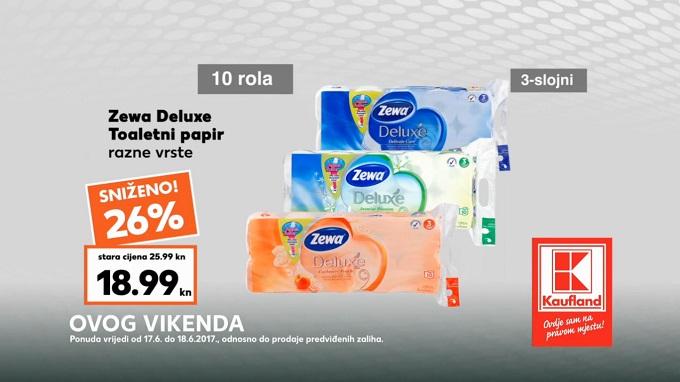 Kaufland vikend_akcija Zewa toaletni papir