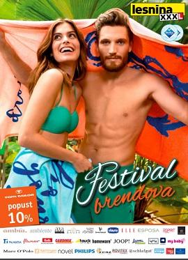Lesnina katalog Festival brendova