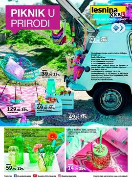 Lesnina katalog Piknik u prirodi
