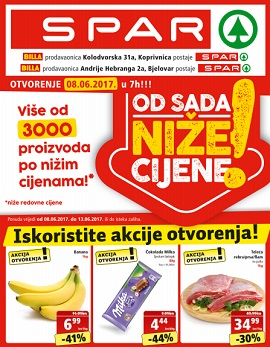 Spar katalog Koprivnica Bjelovar