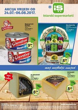 Istarski supermarketi katalog