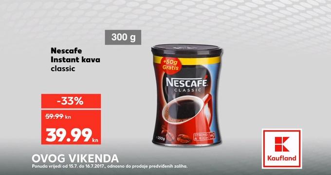 Kaufland vikend akcija Nescafe