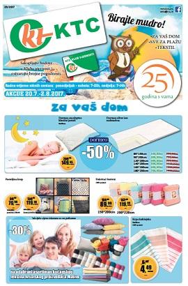 KTC katalog Tekstil i oprema za ljeto