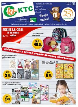 KTC katalog Škola, igračke i tekstil