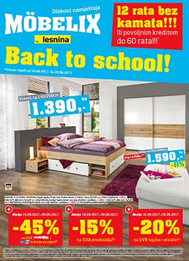 Mobelix katalog Back to school